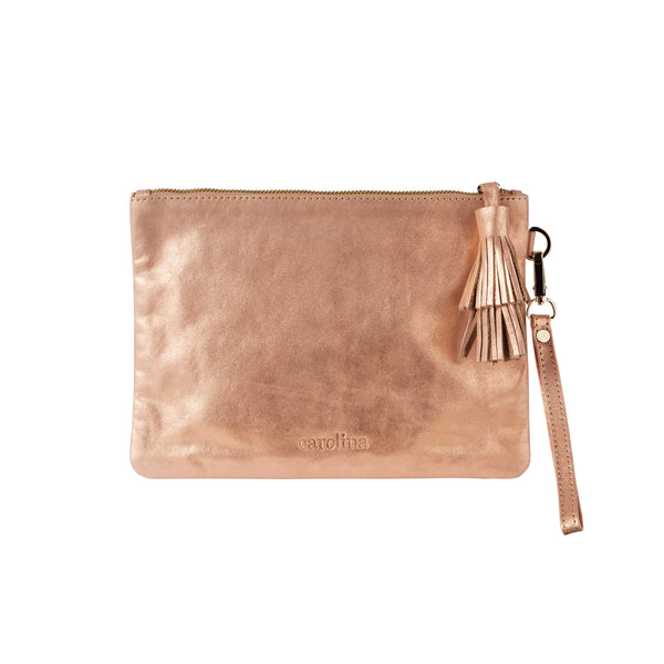 Masai Mara Clutch Rose Gold Metallic