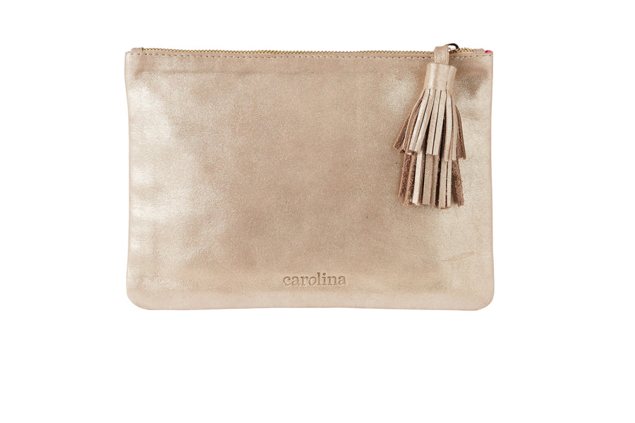 Masai Mara Clutch Light Gold