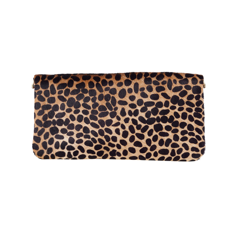 Carolina Cowhide Clutch Giraffe