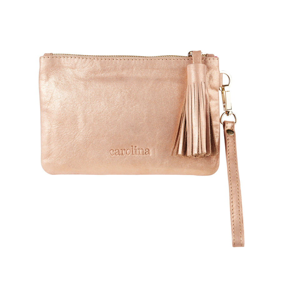 Mini Masai Mara Clutch Rose Gold Metallic