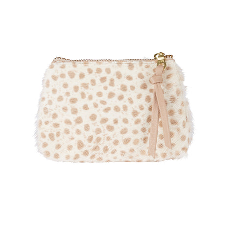 Coin Purse Almond Cheetah