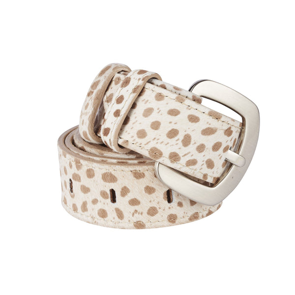Jeans Belt Almond Cheetah