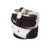 Jeans Belt Black & White Cowhide