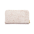 Zipper Wallet Almond Cheetah