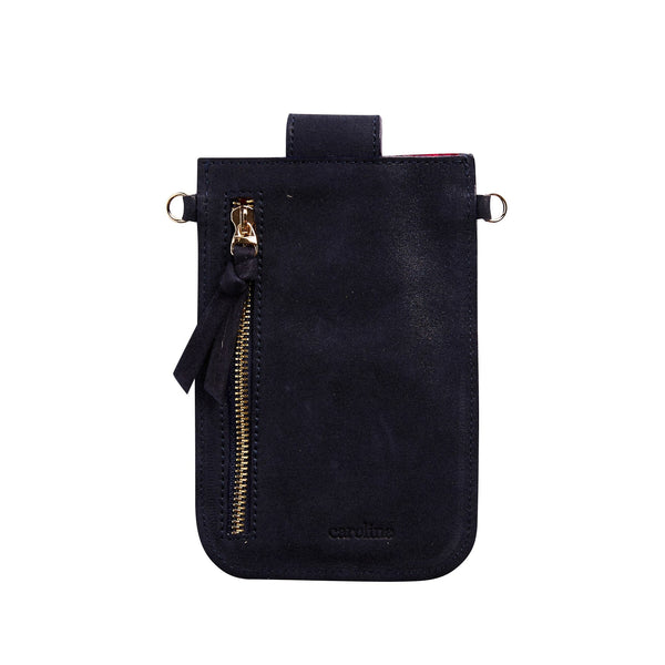 Mobile Phone Holder Navy Metallic