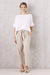 Pure Linen Pants Oatmeal