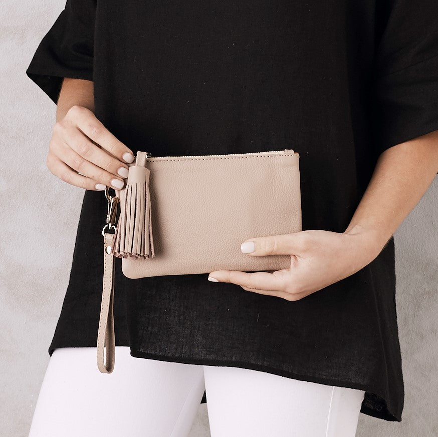 Mini Masai Mara Clutch Nude SL