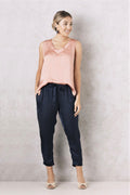 Chloe Top Rose