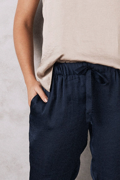 Camilla Pants Navy