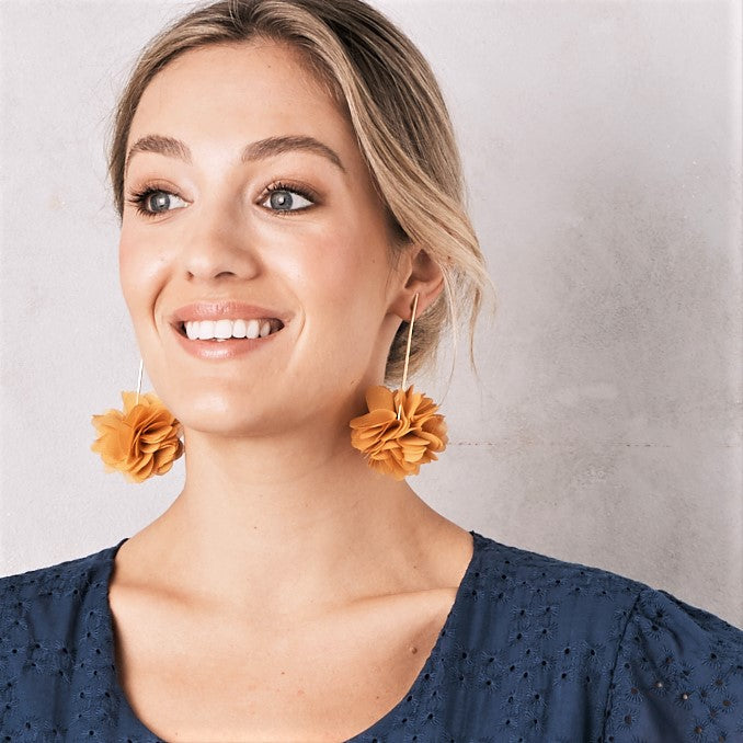 Marisol Earrings Mustard