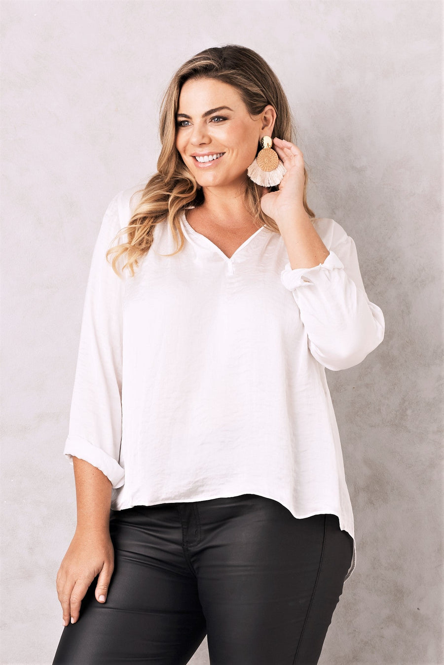 Palermo Top White