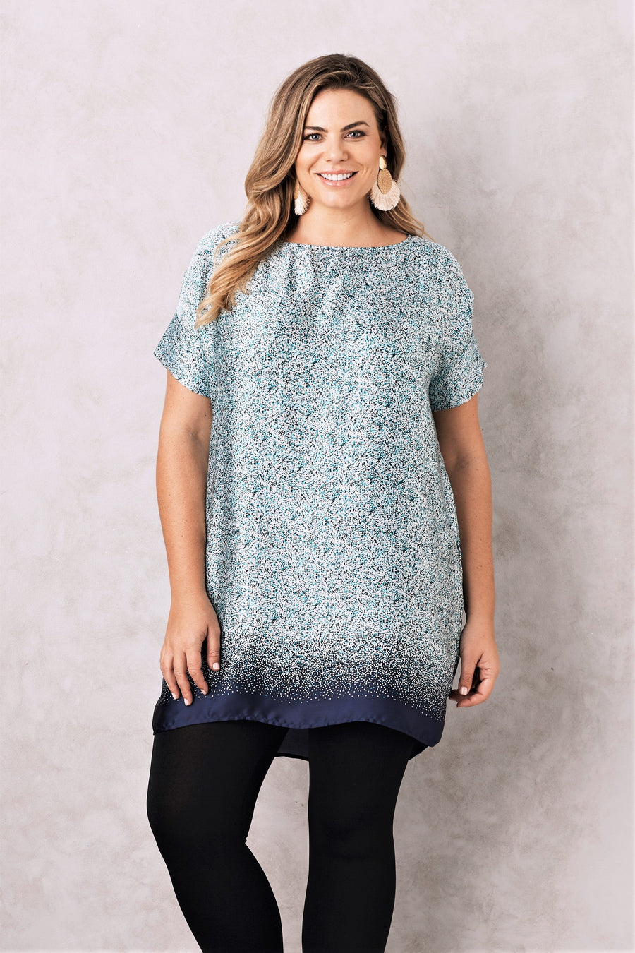 Eliza Dress Teal
