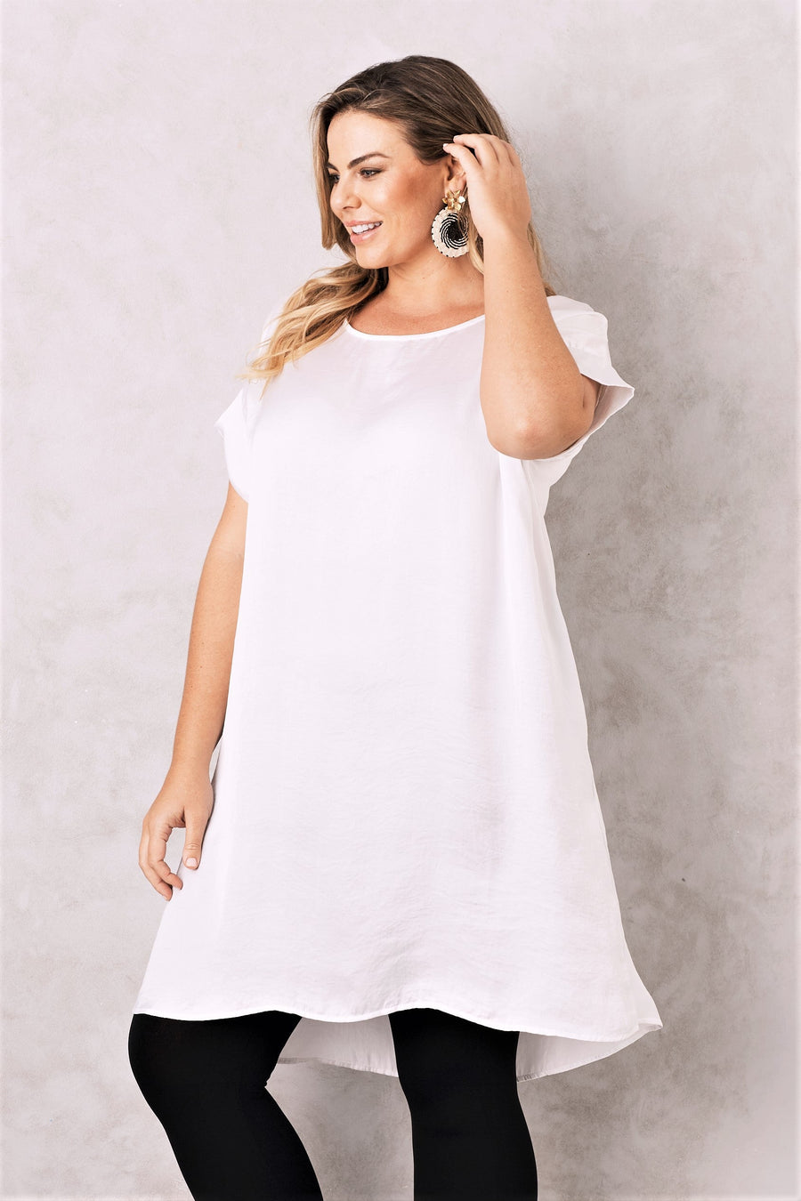 Evie Dress White