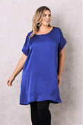 Evie Dress Indigo
