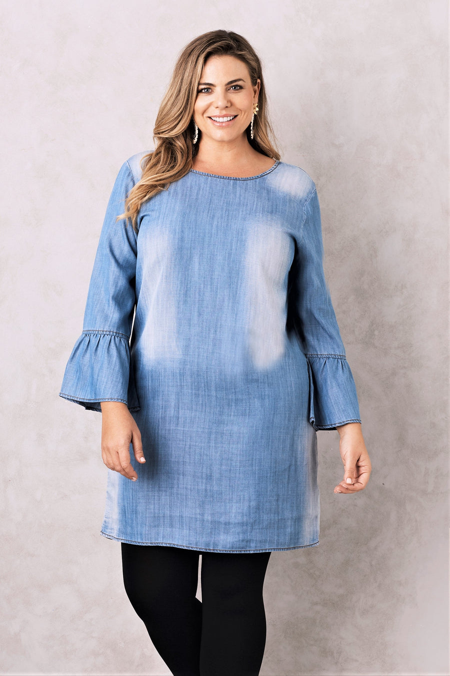 Fiona denim dress