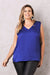 Chloe Sleeveless Top Indigo