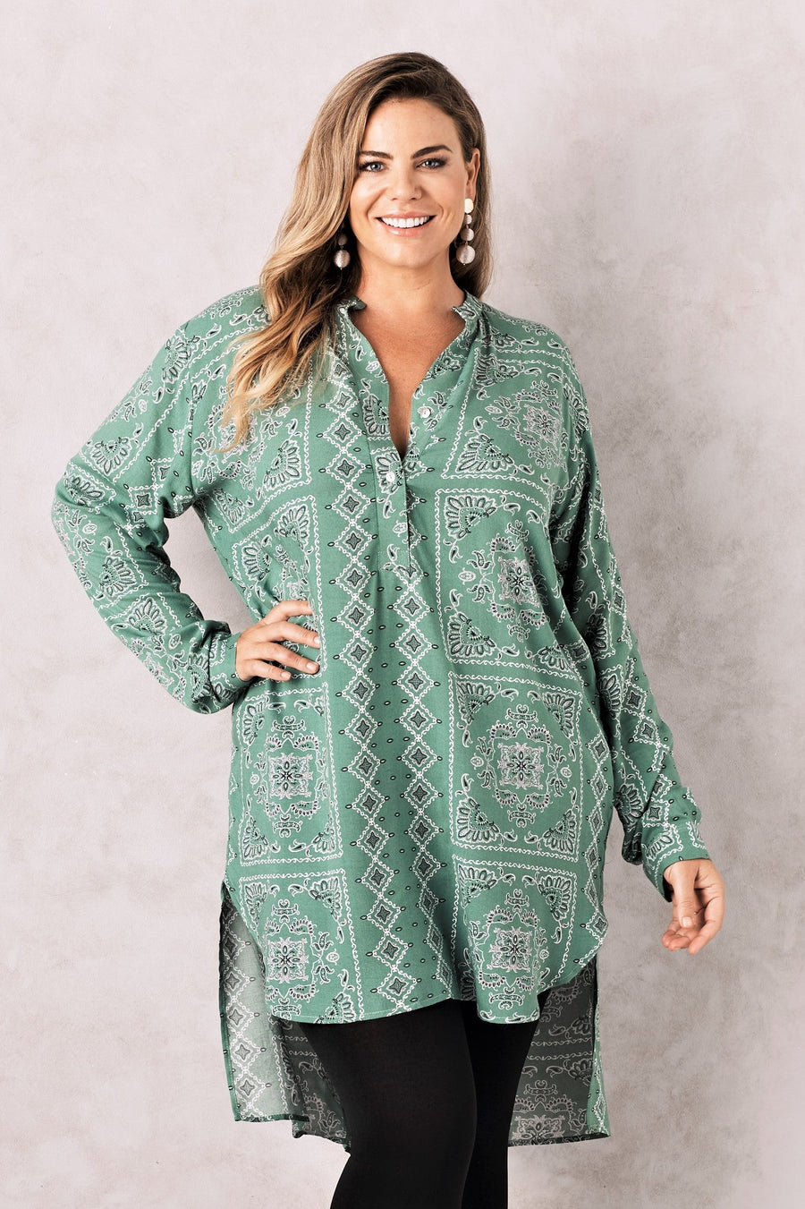 Amalfi Top Green