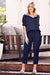 Faux Jumpsuit Navy