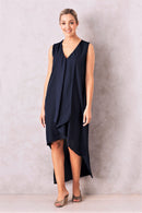 Mila Dress In Navy