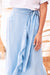 Endless Summer Wrap Around Skirt Blue