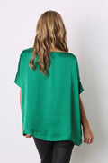 Bianca Top Emerald with V Neck
