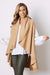 Melanie Sleeveless Cape Camel