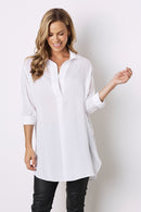 Monaco Dress Shirt White