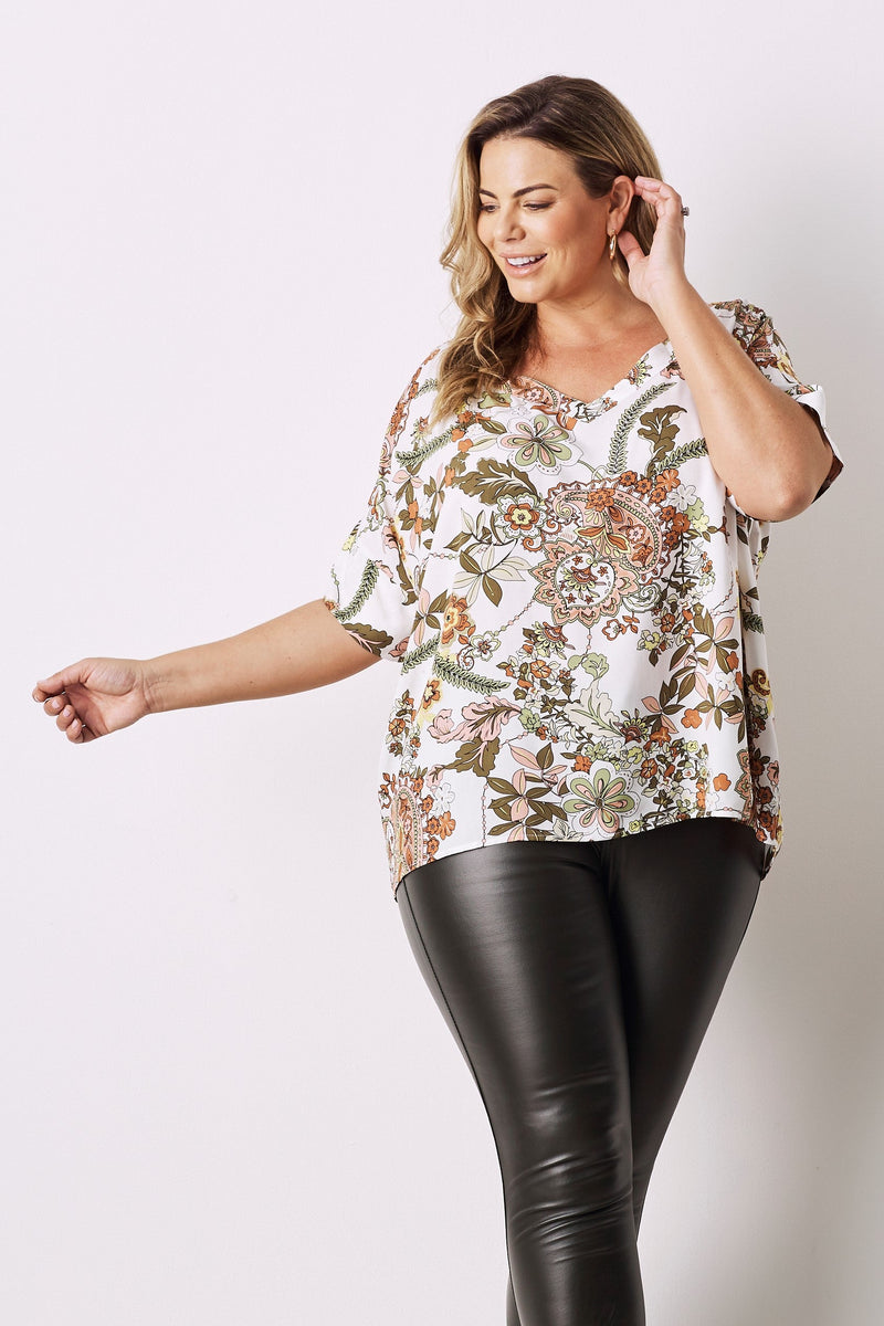 Malta Top with V Neck