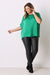 Bianca Short Sleeve Top Emerald