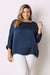 Martina Long Sleeve Top Navy
