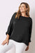 Martina Long Sleeve Top Black