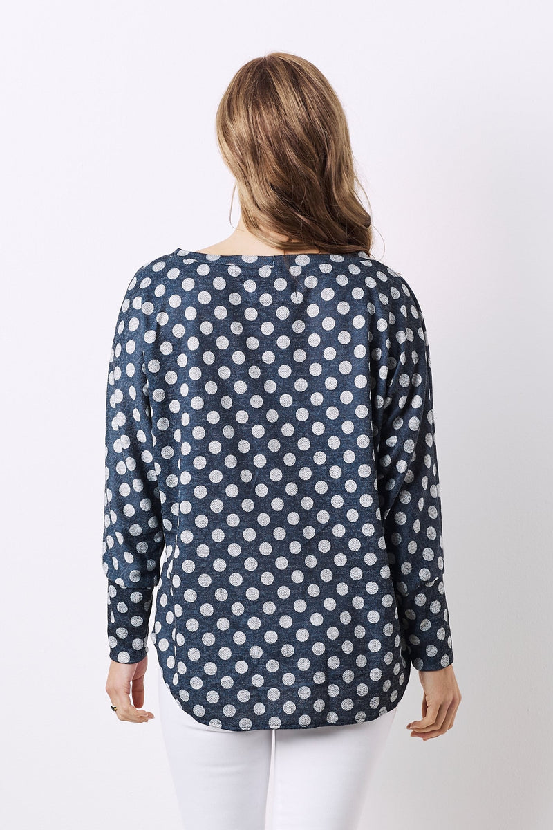 Lilou Top Navy