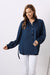 Athena Long Sleeve Collared Shirt Navy