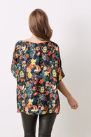 Bianca Short Sleeve Top Bella Print