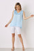 Chloe Sleeveless Top Blue