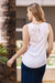 Chloe Sleeveless Top White