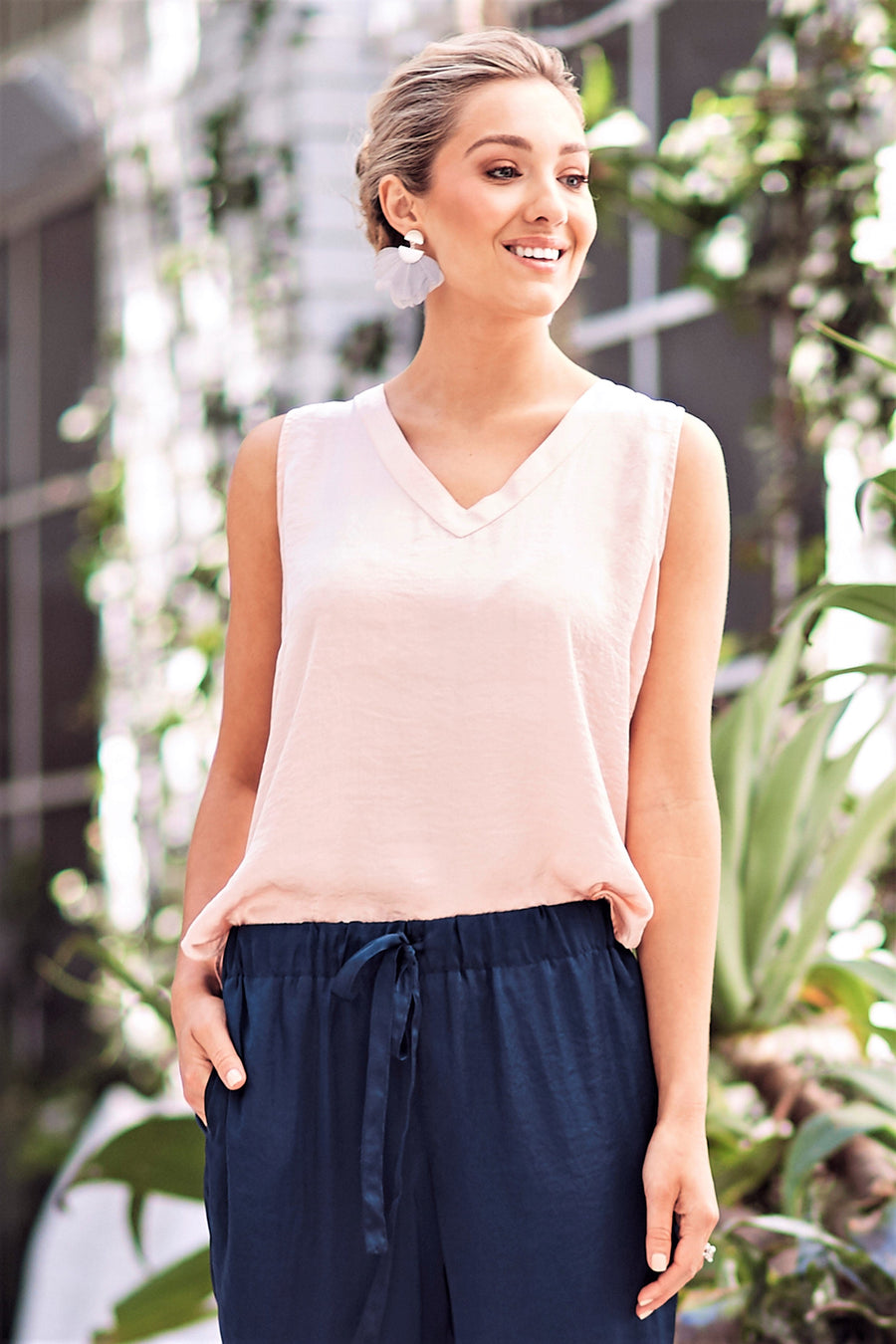 Chloe Top Blush