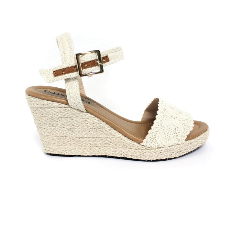 Toledo Lace Wedges