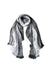 Alpaca Wrap Striped Multi Colour Grey