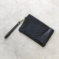Mini Masai Mara Clutch Textured Zebra Black