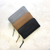 Zipper Wallet in Black