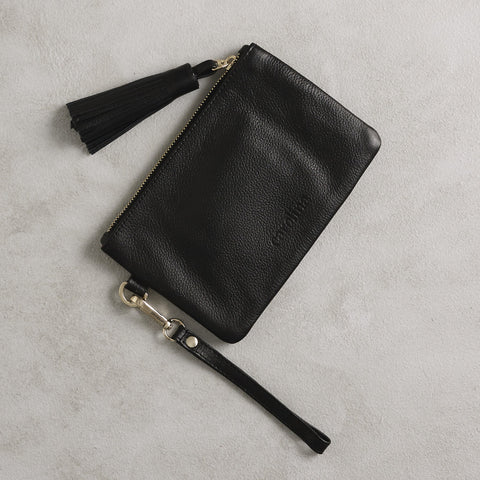 Mini Masai Mara Clutch in Black