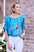 Isabella Royal Blue Top