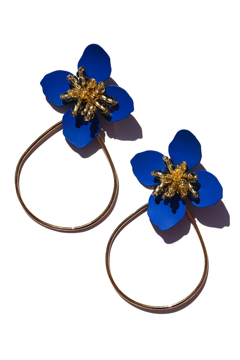 Jasmine Earrings Blue