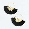 Luna Earrings Black