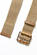 Long Island Bamboo Belt - Tan