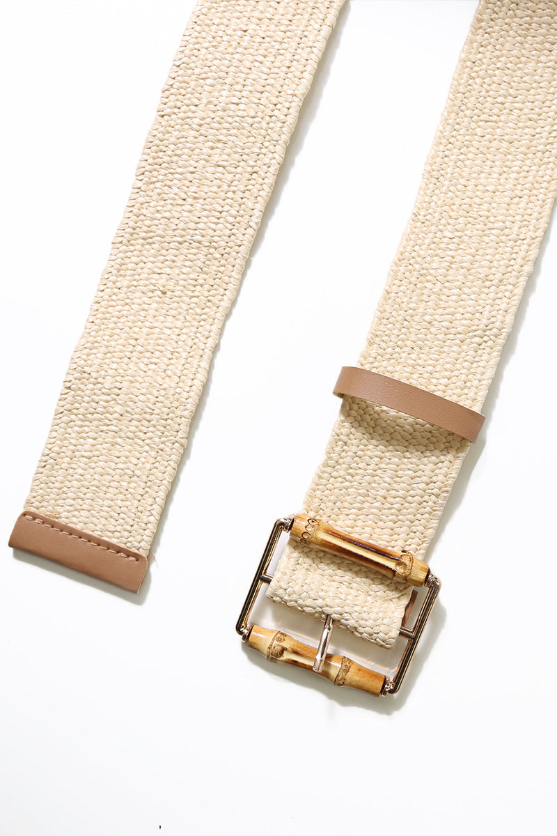 Long Island Bamboo Belt - Natural