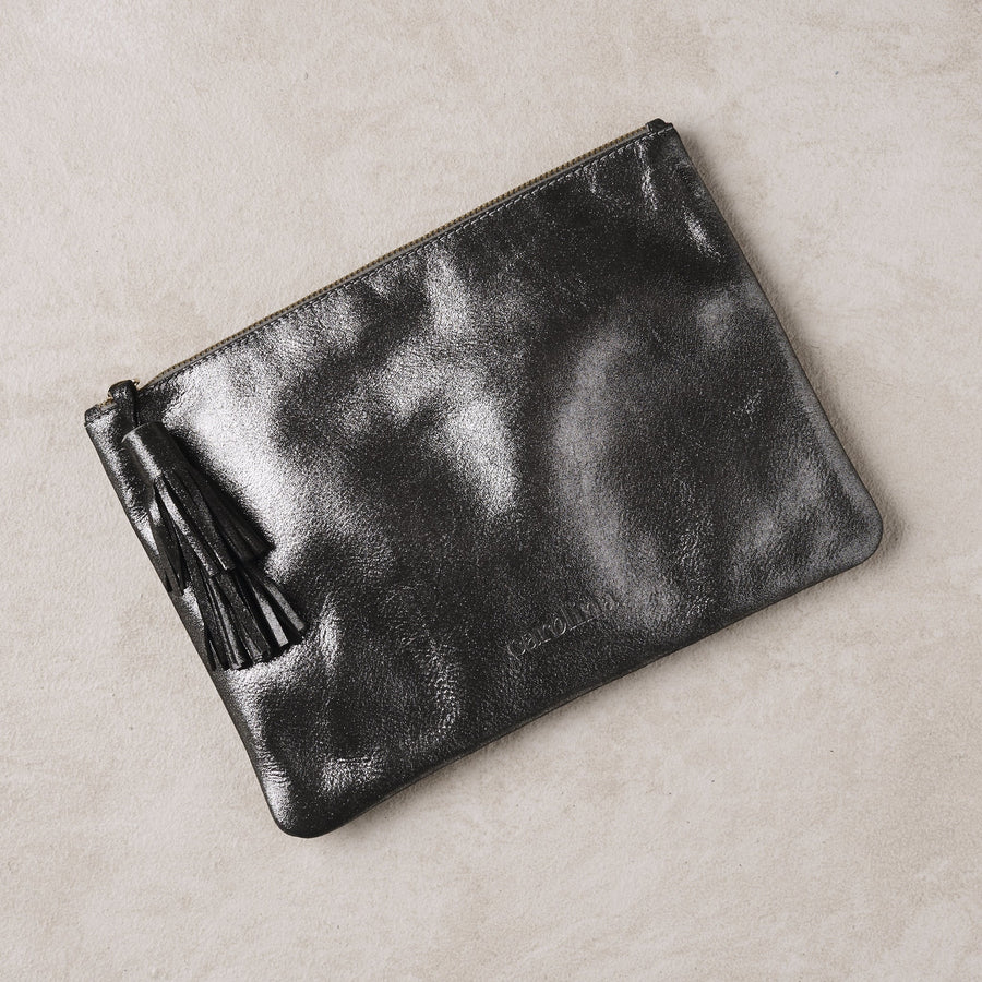 Masai Mara Clutch Dark Grey Metallic