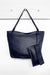 Nora Leather Handbag Navy