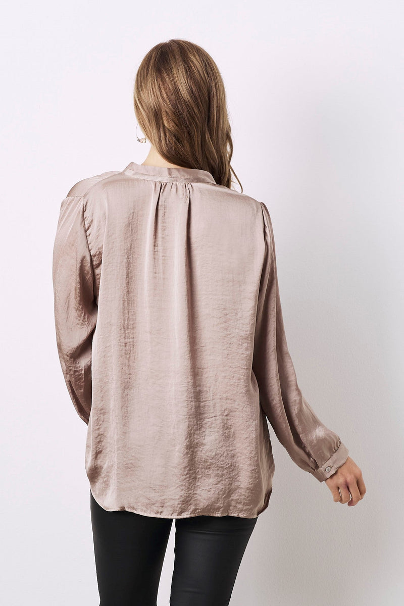 Palermo Long Sleeve Top Almond